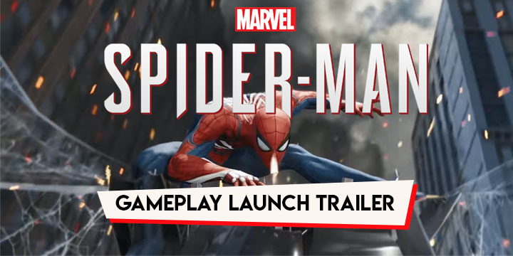 e31a93c439c See the Swinging Action of Spidey in the Gameplay Launch Trailer of ...