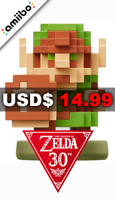 AMIIBO THE LEGEND OF ZELDA SERIES FIGURE (LINK THE LEGEND OF ZELDA) Nintendo