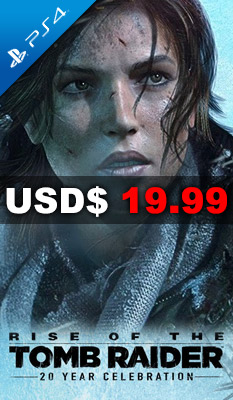 RISE OF THE TOMB RAIDER: 20 YEAR CELEBRATION Square Enix