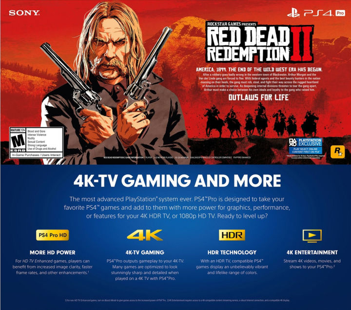 Red Dead Redemption II Requires 105 GB Memory to Install