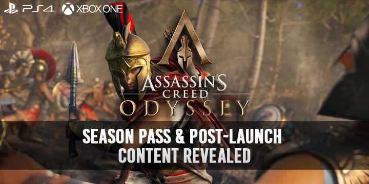 Assassin S Creed Odyssey Season Pass Post Launch Content Revealed