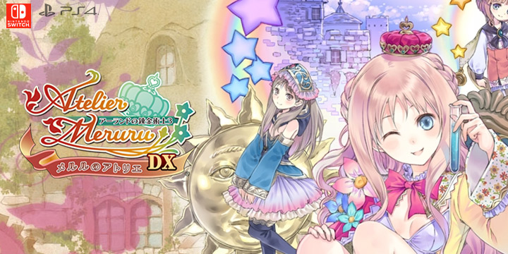 Atelier Arland Trilogy,Atelier Totori: The Adventurer of Arland DX, Atelier Meruru: The Apprentice of Arland DX,Atelier Rorona: The Alchemist of Arland DX, Gust, Koei Tecmo,Atelier: The Alchemist of Arland 1-2-3 DX, PlayStation 4, Nintendo Switch, release date, price, gameplay, features, trailer