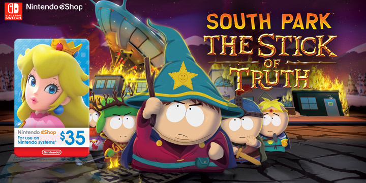 South Park, Ubisoft, South Park: The Stick of Truth, Nintendo Switch, Switch, Nintendo e-shop, gameplay, features, release date, price, trailer, screenshots