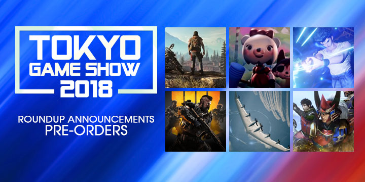 tokyo game show 2018, tgs 2018