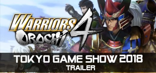 Warriors Orochi 4, Musou Orochi 3, 無双OROCHI3, PS4, XONE, Switch, US, Europe, Australia, Japan, Asia, gameplay, features, release date, price, trailer, screenshots, Koei Tecmo, TGs, TGs 2018, Tokyo Game Show, Tokyo Game Show 2018