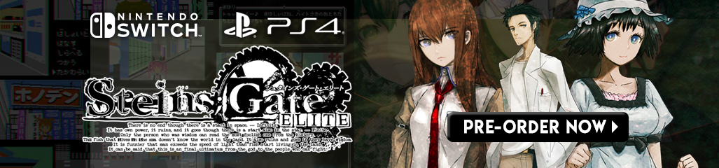 Steins;Gate Elite, PS4, Switch, US, gameplay, features, release date, price, trailer, screenshots, Western release, localization, Spike Chunsoft
