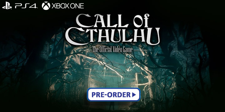 Call of Cthulhu, Call of Cthulhu: The Official Video Game, Focus Home Interactive, PS4, PlayStation 4, XONE, Xbox One, US, Europe, Australia, gameplay, features, release date, price, trailer, screenshots