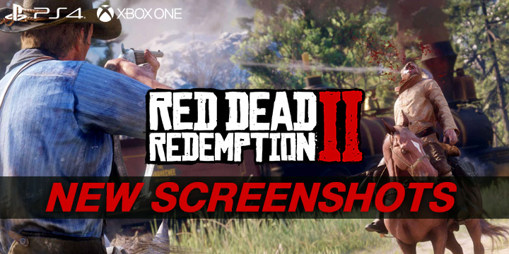 Red Dead Redemption II Releases Newest Screenshots!