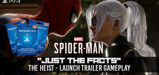 Spider-Man, The Heist Trailer, DLC Trailer, PlayStation 4, Japan, Asia, US, North America, Europe, release date, gameplay, features, price, trailer, DLC, The Heist DLC,Marvel's Spider-Man: City That Never Sleeps, City That Never Sleeps DLC, update, post-launch DLC, The Heist Just the Facts