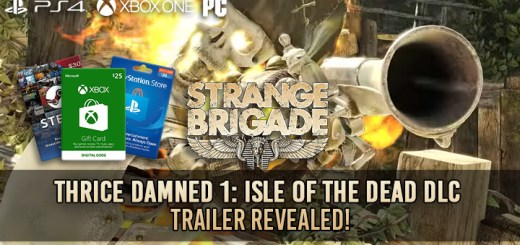 The Thrice Damned 1: Isle of the Dead, Strange Brigade, Strange Brigade DLC Schedule, DLC, PlayStation 4, Xbox One, US, North America, Europe, gameplay, features, price, update