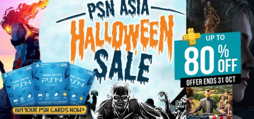 Far Cry 5, Tokyo Xanadu eX+, Until Dawn, Dark Souls Remastered, Dead Cells, Halloween Sale, PSN Store HK, PSN Gift Cards, Sale PSN Asia Sale