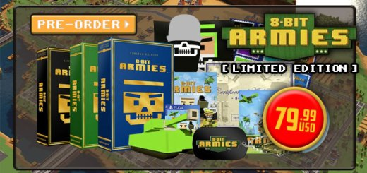 8-Bit Armies, 8-Bit Armies [Limited Edition], PS4, XONE, Windows, PC, US, Europe, gameplay, features, release date, price, trailer, screenshots