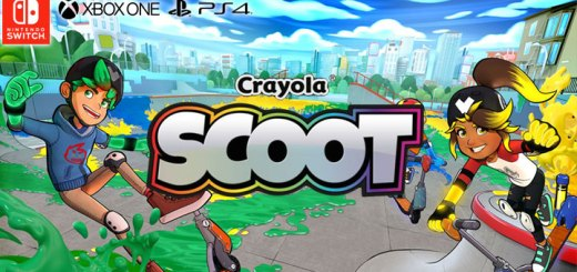 Crayola Scoot, PS4, XONE, Switch, PlayStation 4, Xbox One, Nintendo Switch, US, Europe, Australia, gameplay, features, release date, price, trailer, screenshots