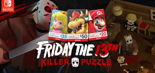 Friday the 13th: Killer Puzzle, Nintendo Switch, release date, gameplay, features, trailer, Nintendo eShop cards, game, digital, Blue Wizard Digital