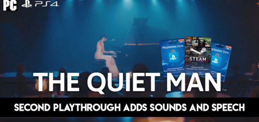The Quiet Man, PlayStation 4, Steam, release date, gameplay, price, digital, PSN cards, Steam cards, Square Enix, trailer, update, game, second playthrough update, free update