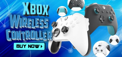 Xbox Wireless Controller, PC, XONE, Xbox One S, XONE X, Asia, Microsoft, Xbox, Xbox Wireless Controller (Grey x Blue), Xbox Elite Wireless Controller (White Special Edition), accessories