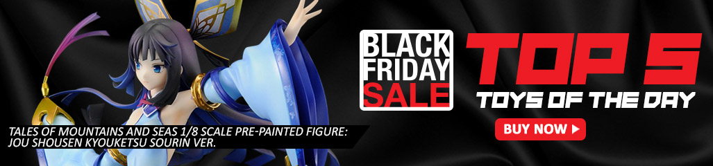 TALES OF MOUNTAINS AND SEAS 1/8 SCALE PRE-PAINTED FIGURE: JOU SHOUSEN KYOUKETSU SOURIN VER., black friday sale, Bishoujo Figures