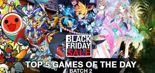 Top 5 games of the day, Playasia, Black Friday, Black Friday Sale, Sale, Batch 2