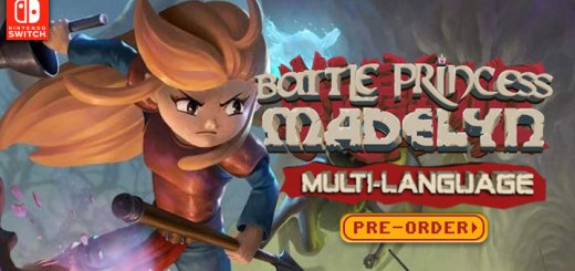 Battle Princess Madelyn, Battle Princess Madelyn Multi-Language, Multi-Language, Nintendo Switch, PS4, Asia, Japan, release date, gameplay, features, price, trailer, 3goo, Casual Bit Games, pre-order