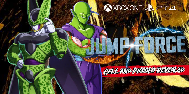 Jump Force, PlayStation 4, Xbox One, release date, gameplay, price, features, US, North America, Europe, new character, update, Cell, Piccolo