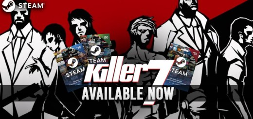 Killer 7, PC, Steam, release date, Steam Gift Cards, trailer, features, Story, new trailer, update, available now