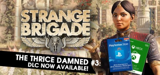 Strange Brigade, US, EU, AU, PS4, XONE, DLC, Thrice-Damned #3, Trailer, Update