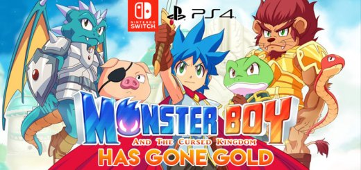 Monster Boy and the Cursed Kingdom, PlayStation 4, Nintendo Switch, US, North America, release date, gameplay, features, price, game, update, gone gold