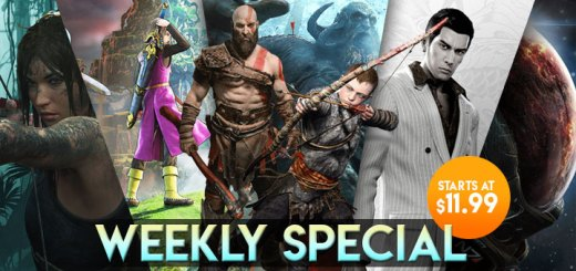 WEEKLY SPECIAL: God of War, Dragon Ball FighterZ, Yakuza 0, & More!