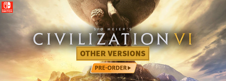 Sid Meier's Civilization, Sid Meier's Civilization VI, Nintendo Switch, Switch, US, Europe, Australia, Asia, Japan, gameplay, features, release date, price, trailer, screenshots, 2K Games, English subs, Chinese subs