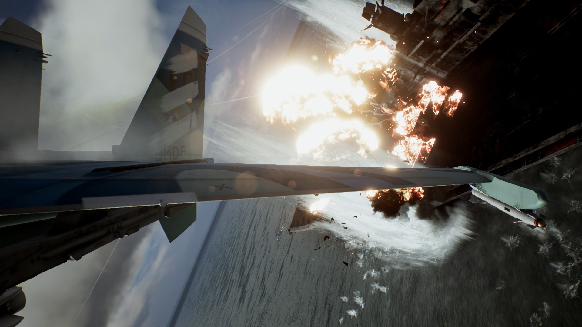 Ace Combat 7: Skies Unknown   Watch the Unexpected Visitor