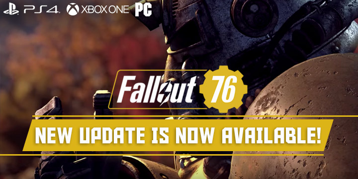 Fallout 76: New Patch Update is Now Available! | See it Here