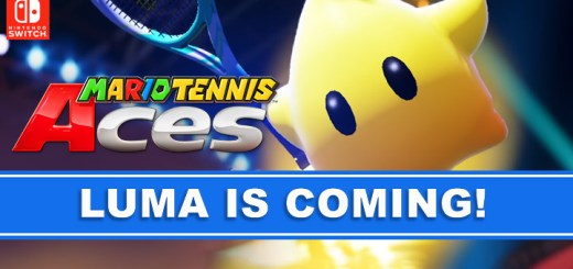 Mario Tennis Aces, Nintendo Switch, Switch, US, Europe, Japan, gameplay, features, DLC, update, Luma