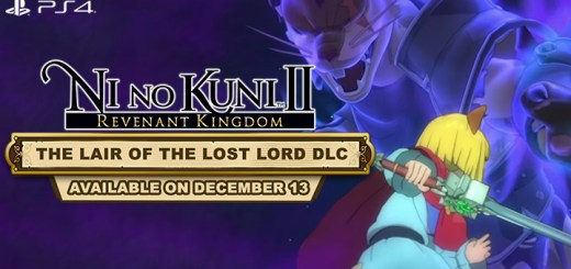 Ni no Kuni II: Revenant Kingdom, US, Europe, Asia, Japan, PS4, PlayStation 4, update, DLC, The Lair of the Lost Lord