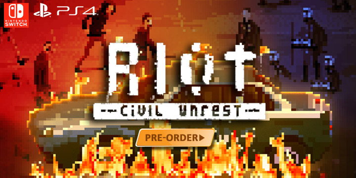 RIOT: Civil Unrest - Indie Simulation Game Based on Protest