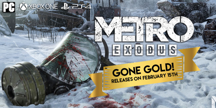 Metro Exodus, Deep Silver, PlayStation 4, Xbox One, North America, Europe, release date, gameplay, features, price, game, trailer, update, gold, ps4, game