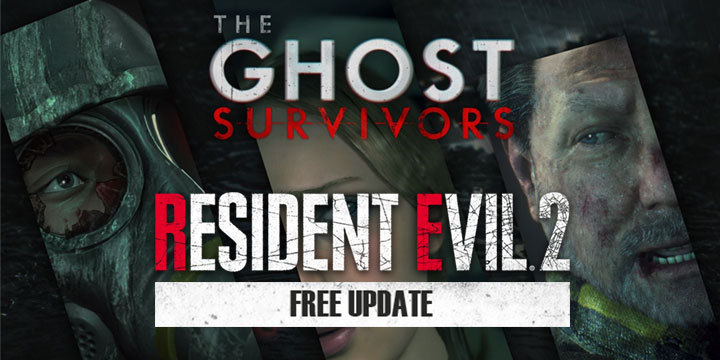 Resident Evil 2 Remake The Ghost Survivors Free DLC Launches