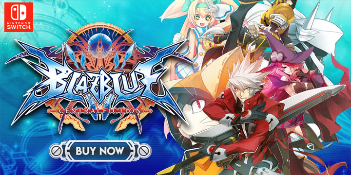Grab the Switch Version of the Special Edition of BlazBlue