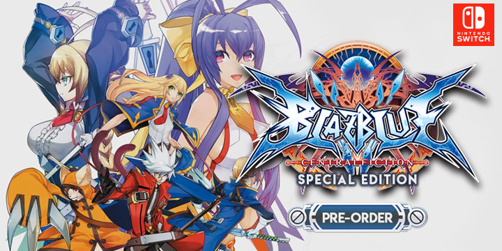 BlazBlue: Central Fiction, BlazBlue, Nintendo Switch, Switch, Europe, Japan, gameplay, features, release date, price, trailer, screenshots
