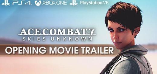 Ace Combat 7: Skies Unknown, Bandai Namco, PlayStation 4, PlayStation VR, Xbox One, PS4, PSVR, XONE, US, Europe, Australia, Japan, Asia, gameplay, features, release date, price, trailer, screenshots, update