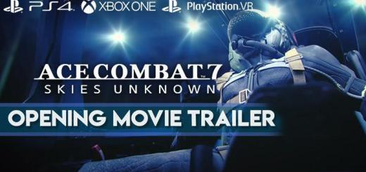 Ace Combat 7: Skies Unknown, Bandai Namco, PlayStation 4, PlayStation VR, Xbox One, PS4, PSVR, XONE, US, Europe, Australia, Japan, Asia, gameplay, features, release date, price, trailer, screenshots, update, launch trailer