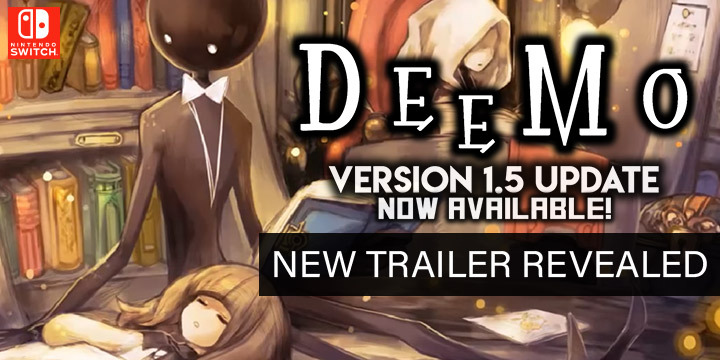 Deemo, Nintendo Switch, Japan, US, North America, gameplay, features, trailer, price, update, news, new songs, version 1.5, Flyhigh Works, PM Studios