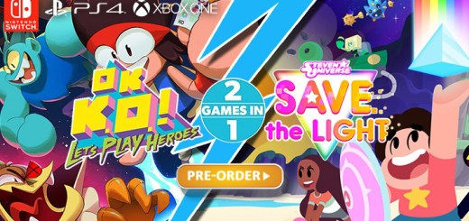 Steven Universe: Save the Light / OK K.O.! Let's Play Heroes 2 Games in 1,Steven Universe: Save the Light / OK K.O.! Let's Play Heroes, game, Outright Games, Bandai Namco Games, PS4, Xbox One, Nintendo Switch, Switch, release date, price, gameplay, features, pre-order