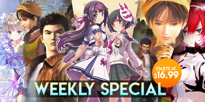 WEEKLY SPECIAL: Shenmue I & II, Gal*Gun 2, Blue Reflection, & More!