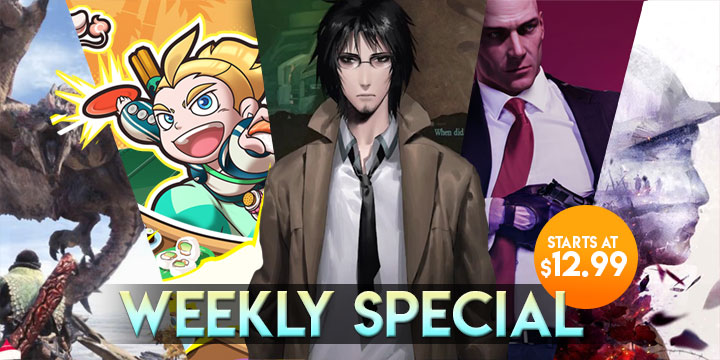 WEEKLY SPECIAL: Monster Hunter: World, Dragon's Crown Pro, & More!