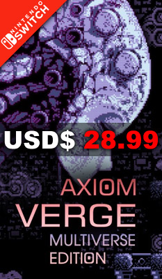 AXIOM VERGE [MULTIVERSE EDITION] BadLand Games