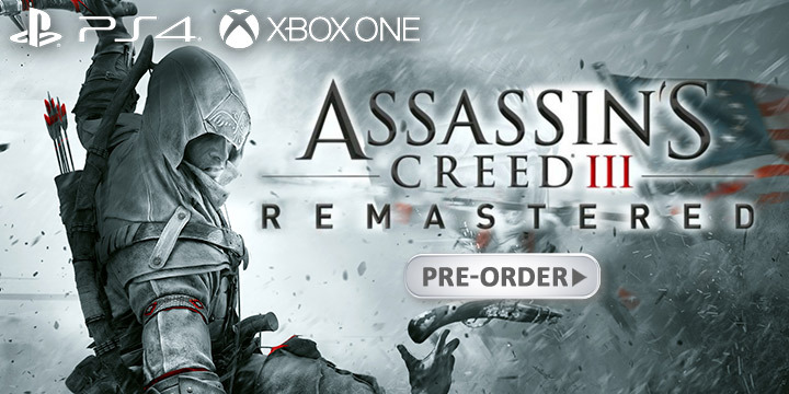 Assassin S Creed Iii Remastered Physical Release Confirmed Pre