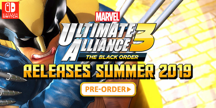 Marvel Ultimate Alliance 3 The Black Order All New