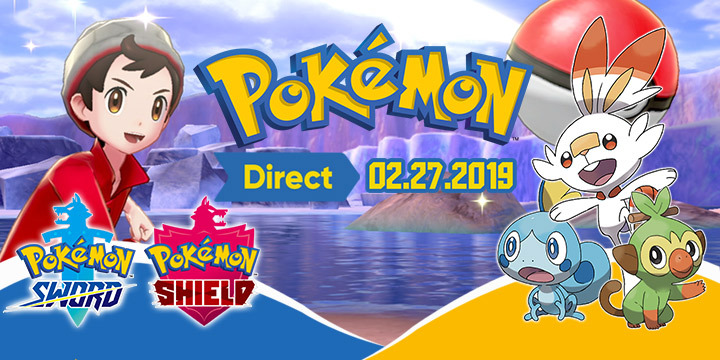 See The New Announcement In 02 27 2019 Pokemon Direct