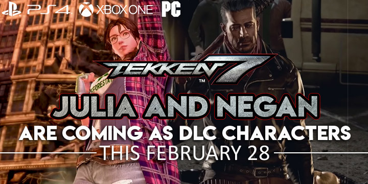 Tekken 7 Julia And Negan Are Coming As Dlc Characters This
