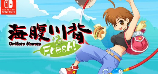 Umihara Kawase Fresh!, Umihara Kawase Series New Title, 海腹川背 Fresh!, Nintendo Switch, Japan, Switch